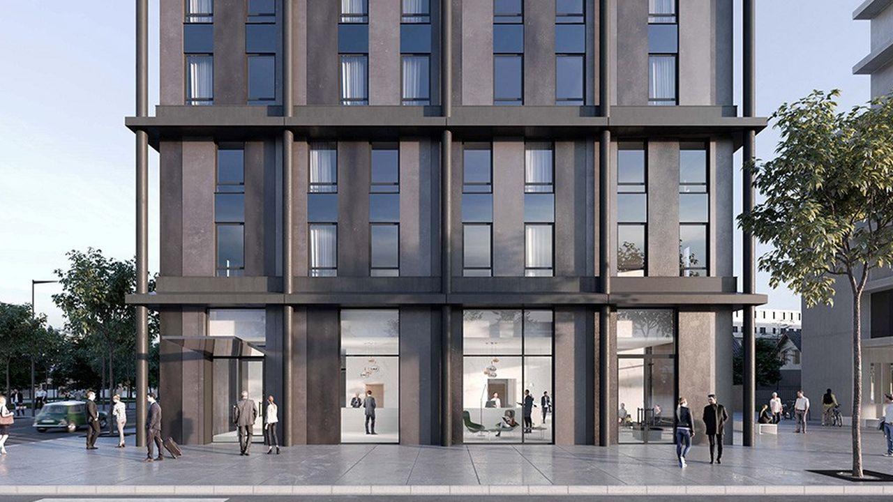 Le projet d'hôtel Novotel de Sogepar à Annemasse, qui doit ouvrir à l'automne 2020, illustre la transformation du petit opérateur lyonnais. Ce dernier veut non seulement étendre son parc mais se doter de nouvelles marques.