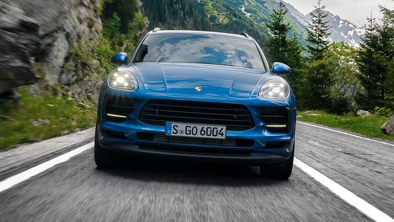 Porsche a vendu 86.031 exemplaires de son Macan en 2018.