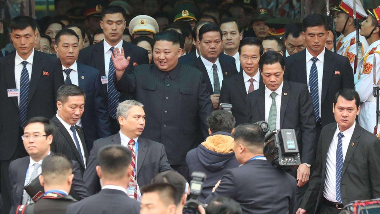 Après un périple de 65heures et plus de 4.000 kilomètres, en train, Kim Jong-un est arrivé ce mardi matin au Vietnam