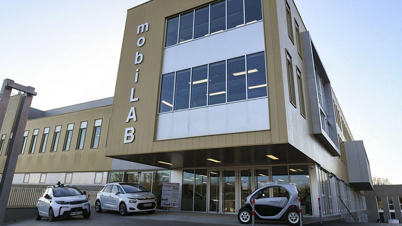 L'immeuble MobiLab regroupe des chercheurs travaillant sur les mobilités du futur.