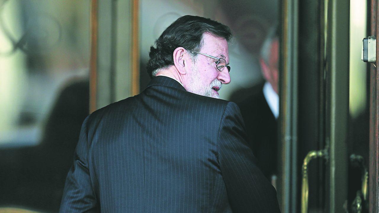 Rajoy a comparu mercredi devant la Cour suprême comme témoin dans le procès des douze dirigeants indépendantistes jugés pour la tentative de sécession de la Catalogne.