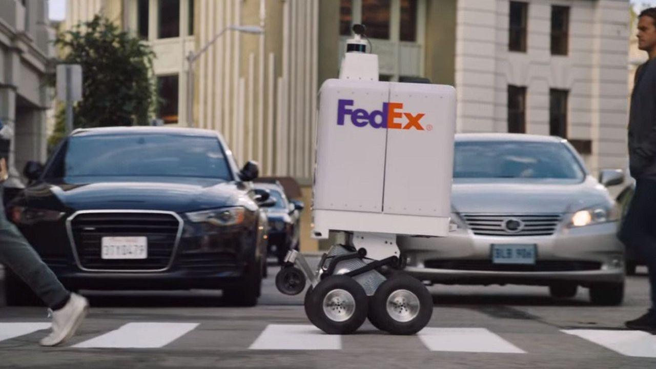 Le «SameDay Bot» sait éviter obstacles et piétonsen circulant à 16km/h maximum