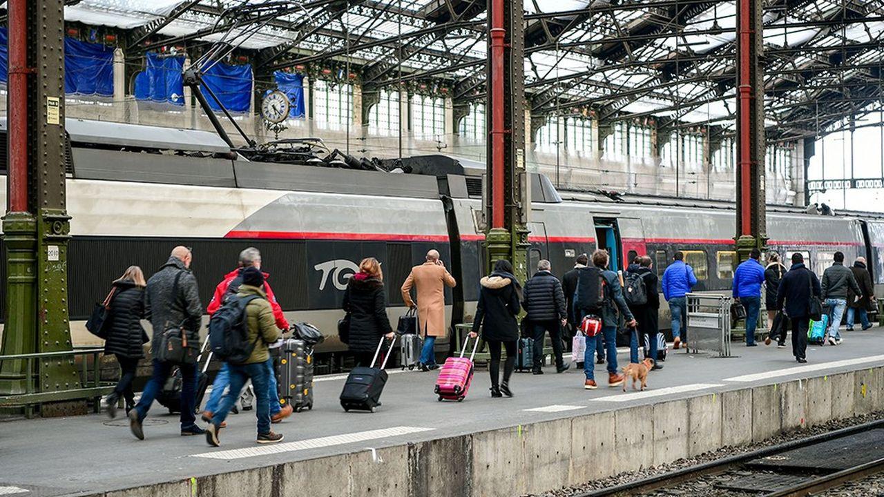 Après la grande grève contre la réforme de la SNCF, l'activité TGV a retrouvé du tonus dès le mois de juillet, et a bouclé l'année avec un chiffre d'affaires quasi stable, alors qu'elle était à -3,6% au premier semestre