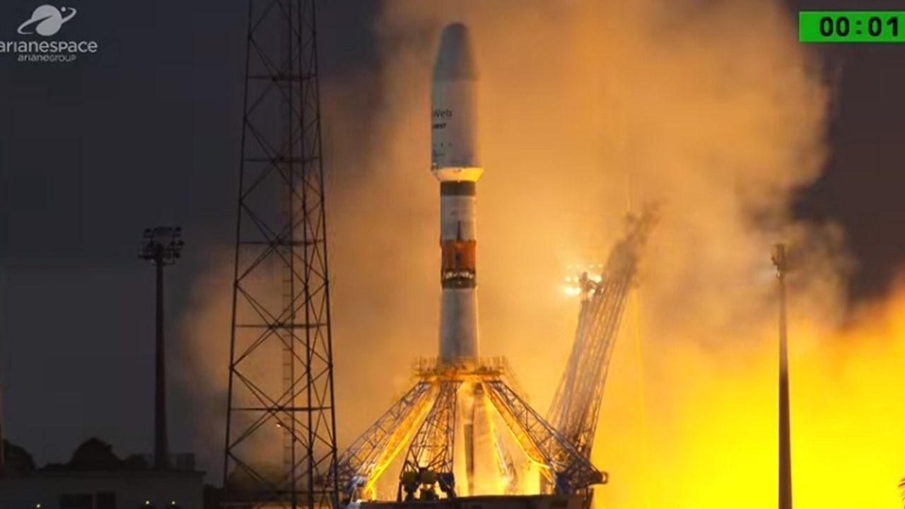 Six premiers petits satellites ont été lancés sans encombre dans la nuit de mercredi à jeudi par la fusée Soyouz depuis le port spatial de Kourou