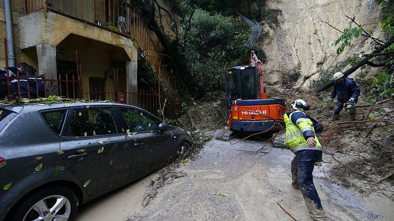 Les coulées de boues liées à de brusques épisodes pluvieux risquent d'être de plus en plus fréquentes avec le réchauffement climatique. Le type de danger que les services de l'Etat vont davantage prendre en compte dans les plans de prévention des risques naturels.