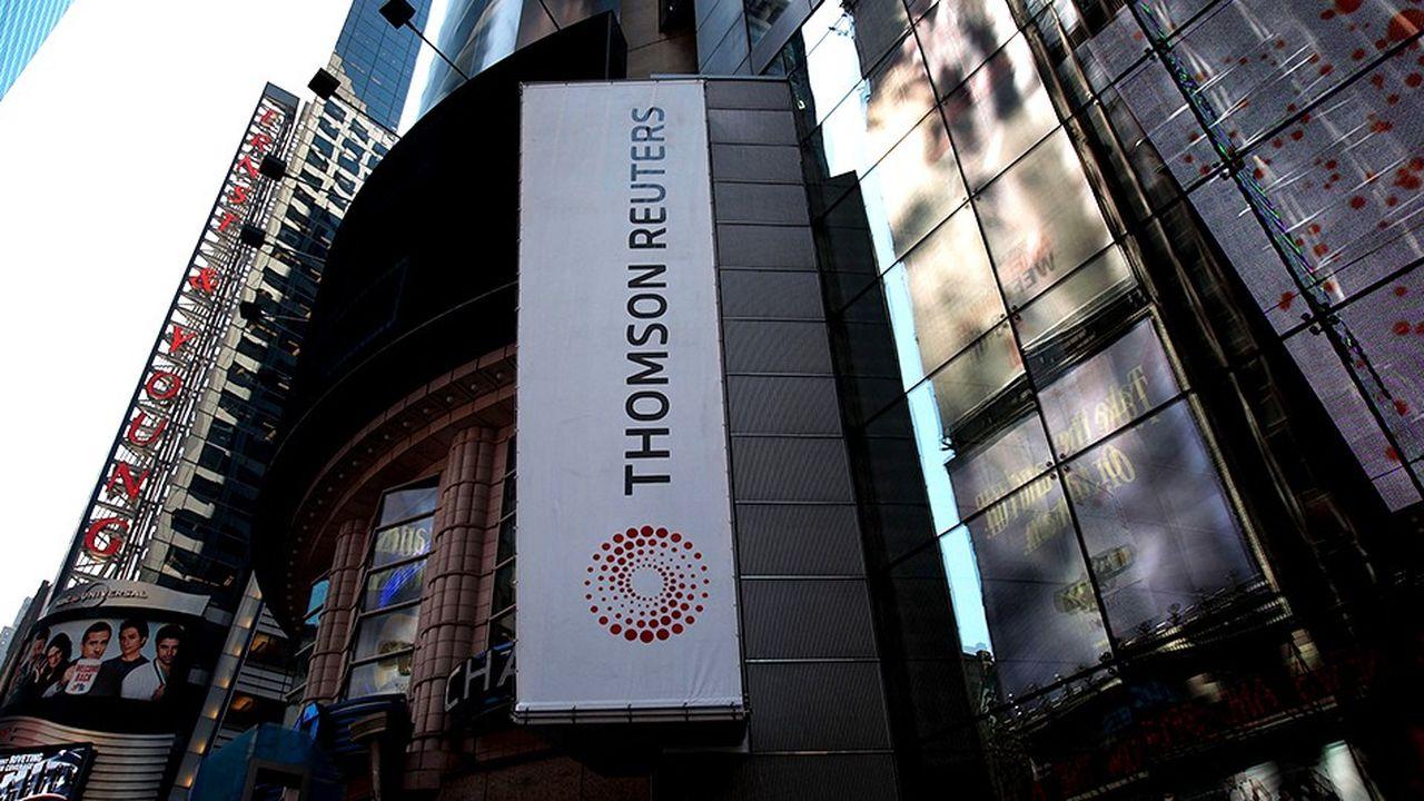 Thomson a cédé 55% de sa division terminaux financiers à Blackstone l'an dernier.