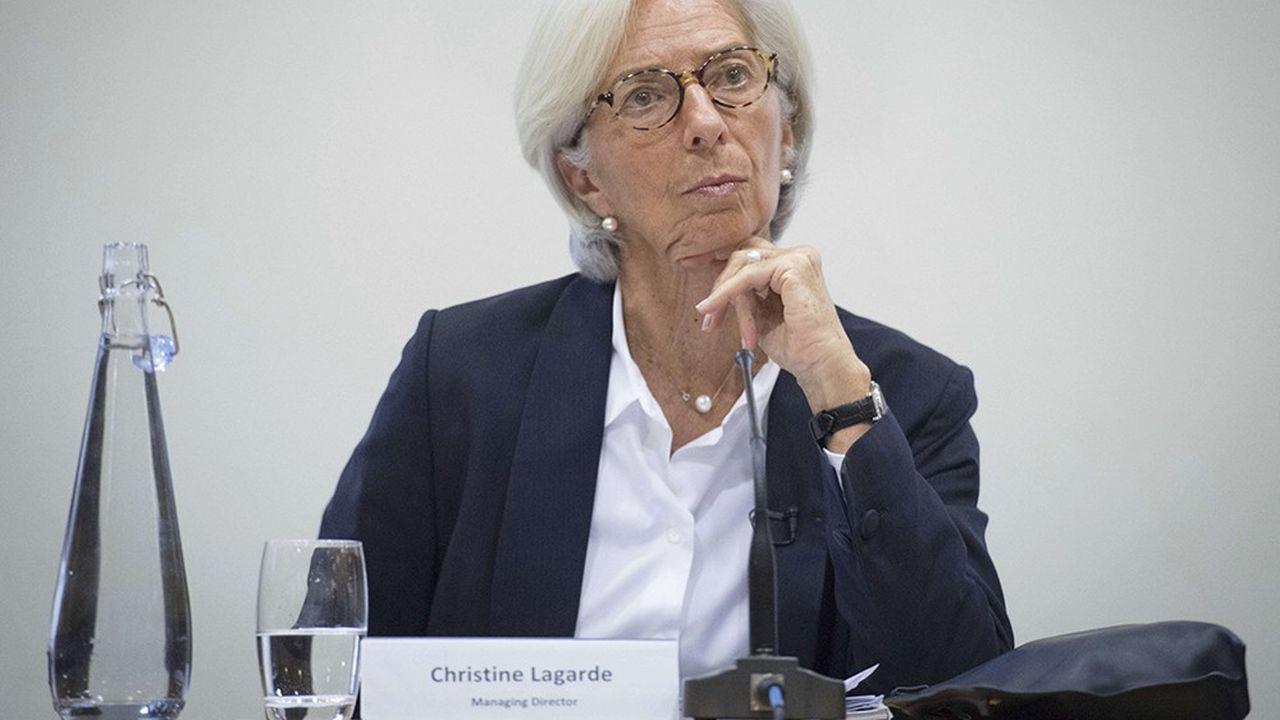 A Londres, la directrice générale du FMI, Christine Lagarde, a conseillé aux acteurs financiers de s'inspirer des idées philosophiques d'Aristote.