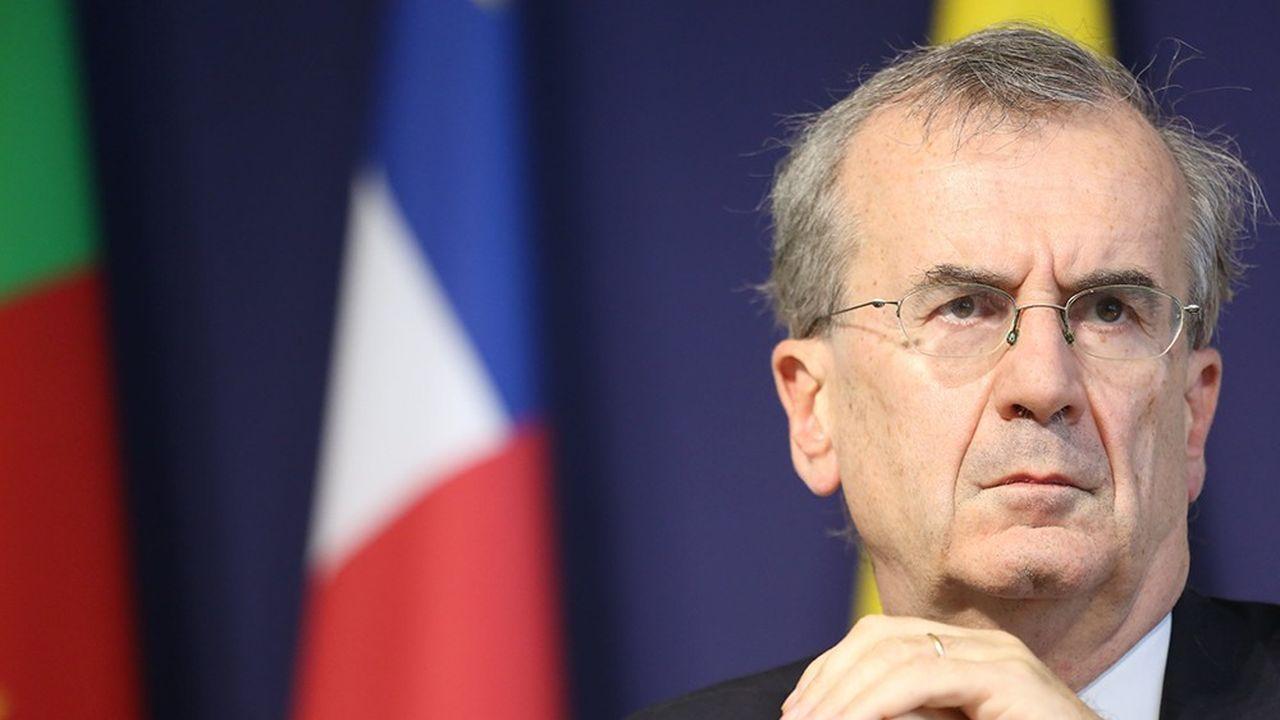 Le gouverneur de la Banque de France, veut voir comment atténuer les potentiels effets indésirables sur les banques de la politique monétaire de la BCE.