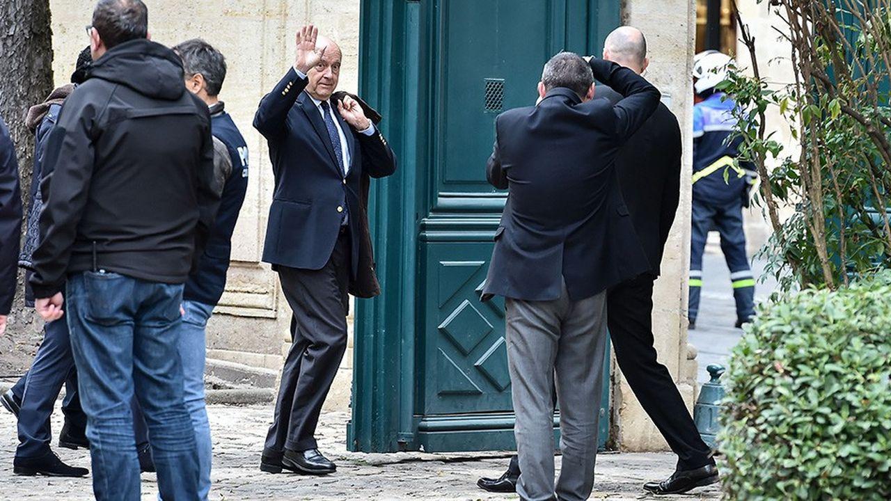 Ce vendredi 1er mars 2019 est une « journée particulière » pour Alain Juppé, comme il l'a dit lui-même