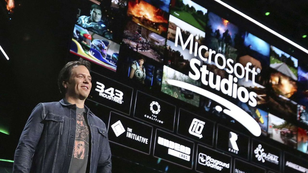 Phil Spencer, le patron du pôle jeux vidéo chez Microsoft.