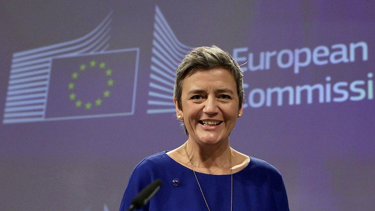 Interrogée sur la proposition d'assouplir les règles européennes de la concurrence, Margrethe Vestager juge qu'il faut «être très conscient des conséquences»