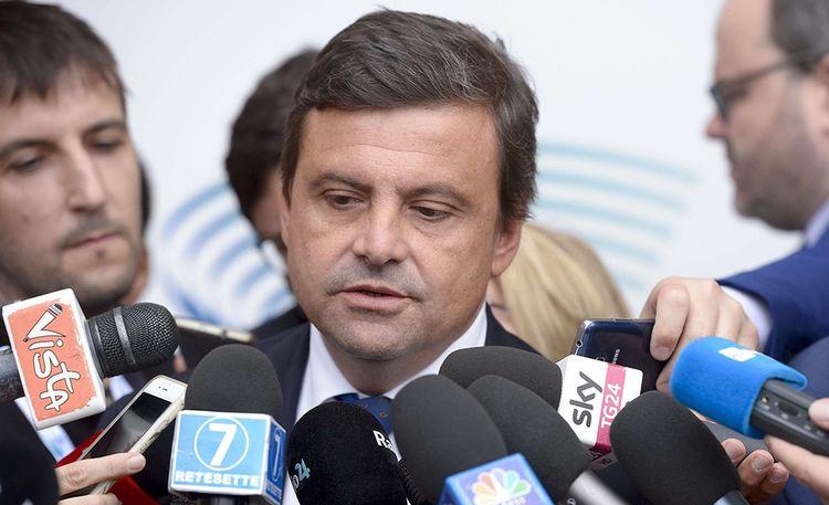 Carlo Calenda quand il était encore ministre du Développement économique italien en 2017