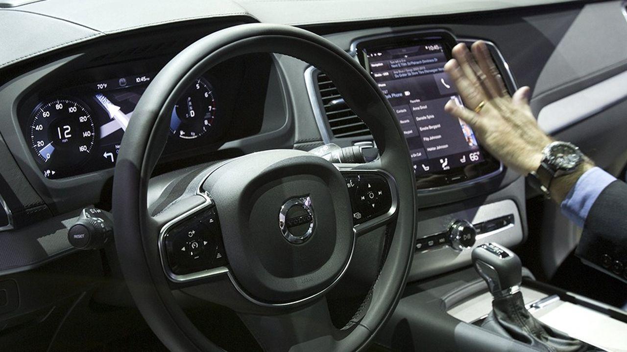 C'est le système électronique des futures voitures de Volvo qui les empêcheront de dépasser les 180 km/h.