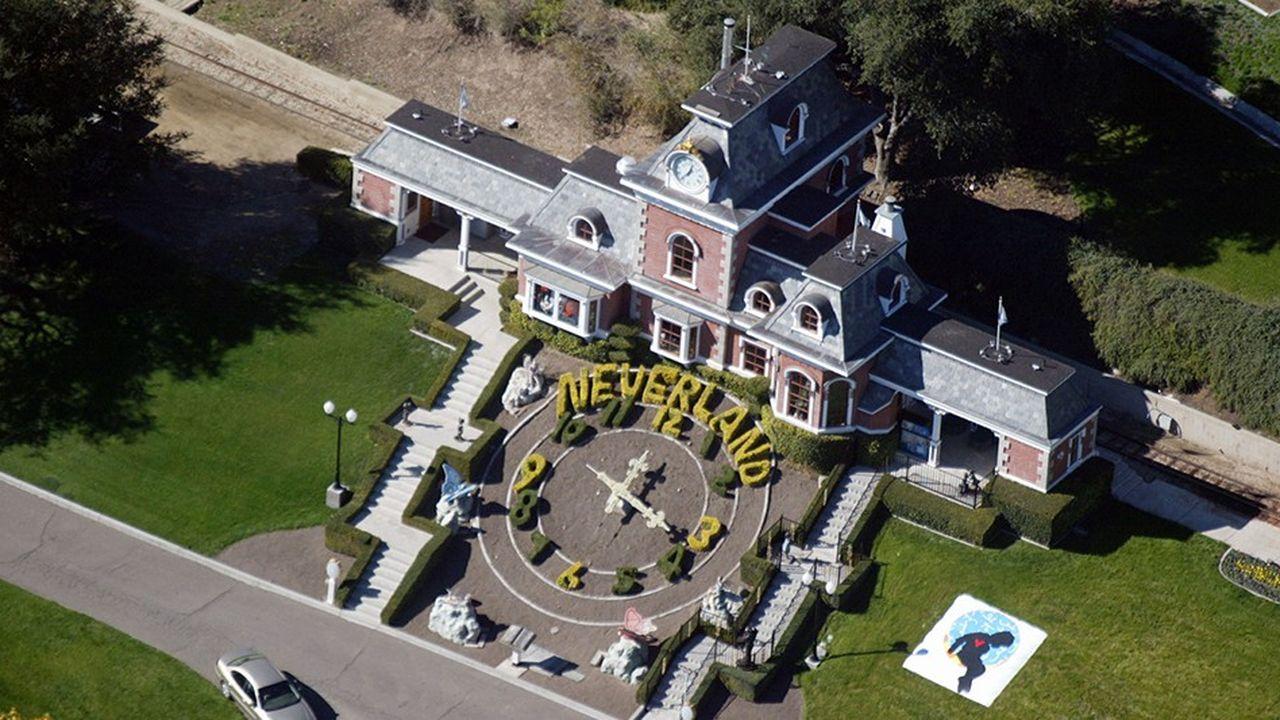 (Le ranch «Neverland» de Michael Jackson.