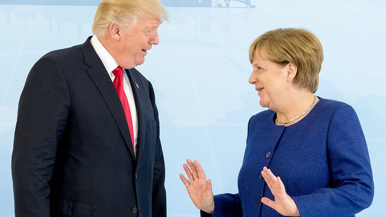 L'antipathie des Allemands pour Trump n'a jamais été aussi élevée vis-à-vis d'un président américain depuis George W. Bush