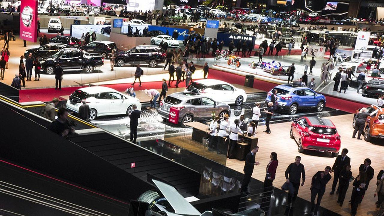 L'édition 2018 du Salon de l'Automobile de Genève.