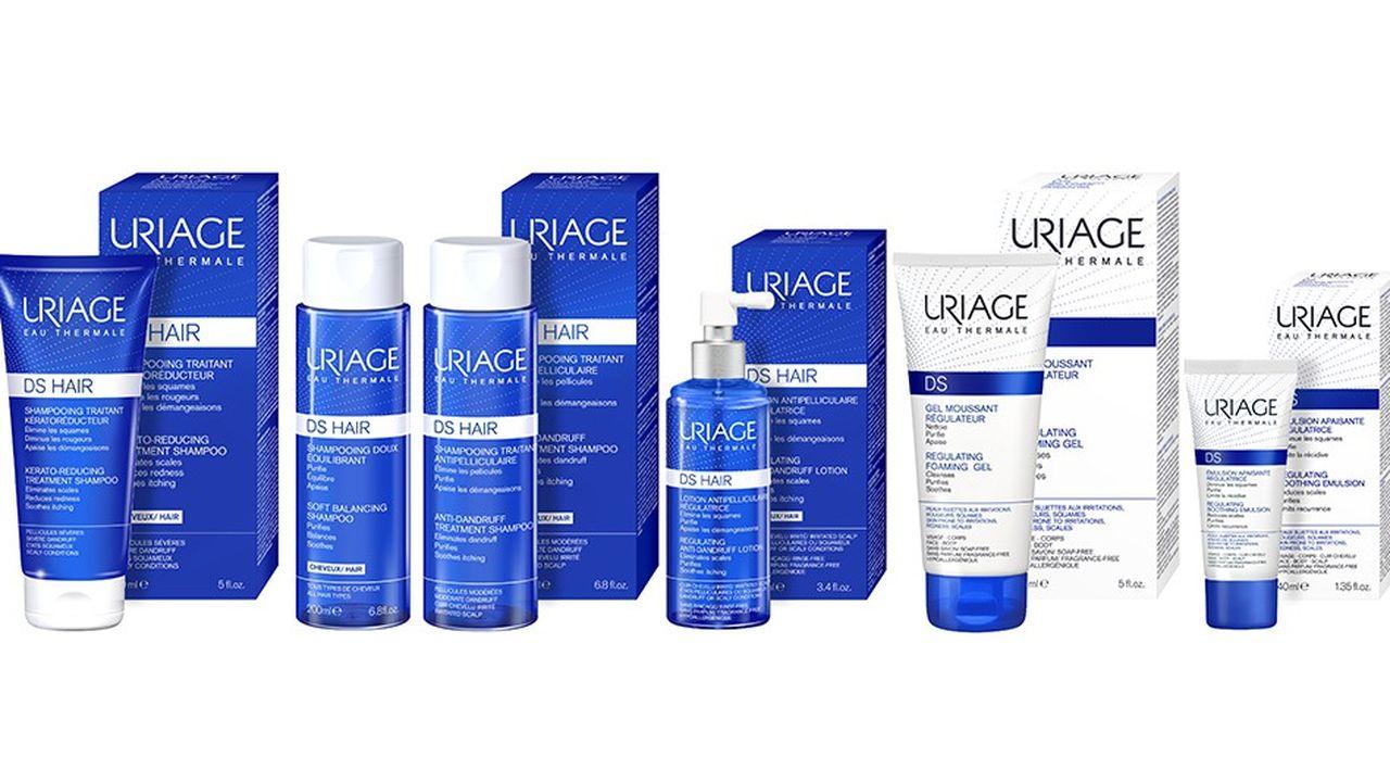 Uriage innove avec une gamme de shampoings et de soins capillaires à base d'eau thermale