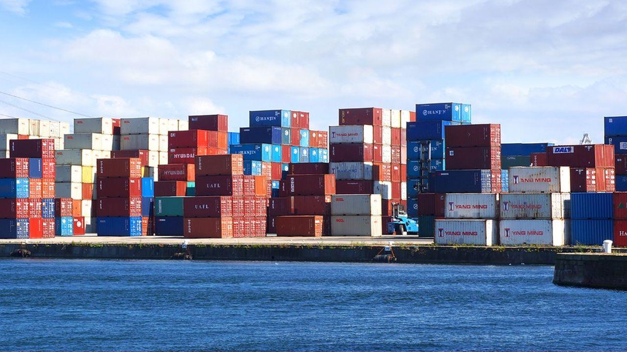 La France affiche un déficit commercial depuis 2004