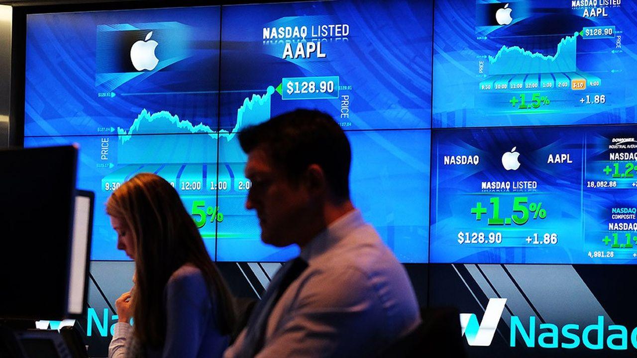 Après avoir enregistré son pire trimestre depuis 2008 à la fin de l'année dernière, l'indice Nasdaq des valeurs technologiques enregistre un très fort rebond.