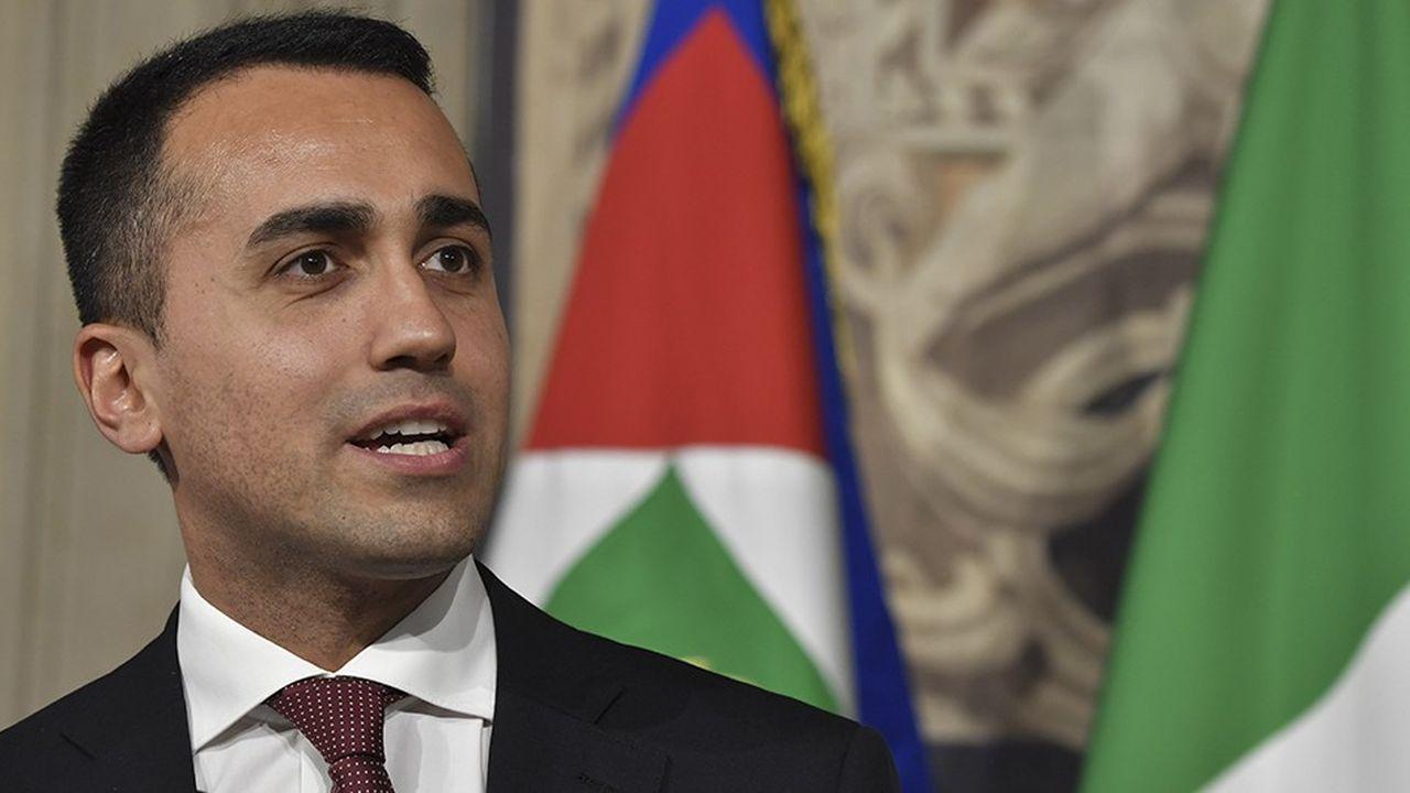 Luigi di Maio, vice président du conseil, leader du M5S.