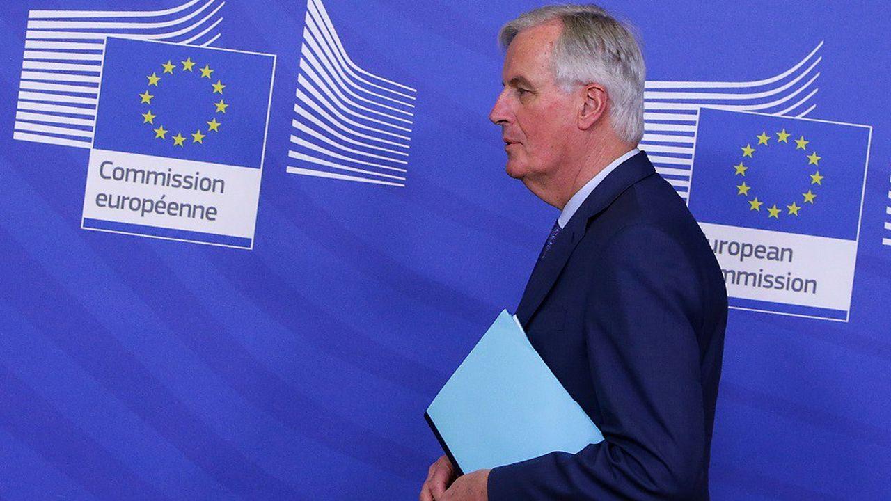Selon un responsable européen, la réunion de mardi soir avec le négociateur en chef de l'UE Michel Barnier ne s'est pas bien déroulée