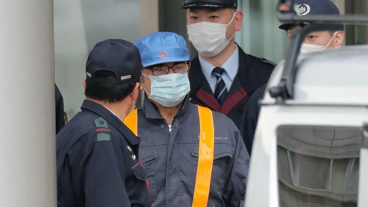 Les avocats de Carlos Ghosn ont payé la caution d'un milliard de yens (7,9millions d'euros) que le tribunal lui a demandé de verser avant de pouvoir être remis en liberté