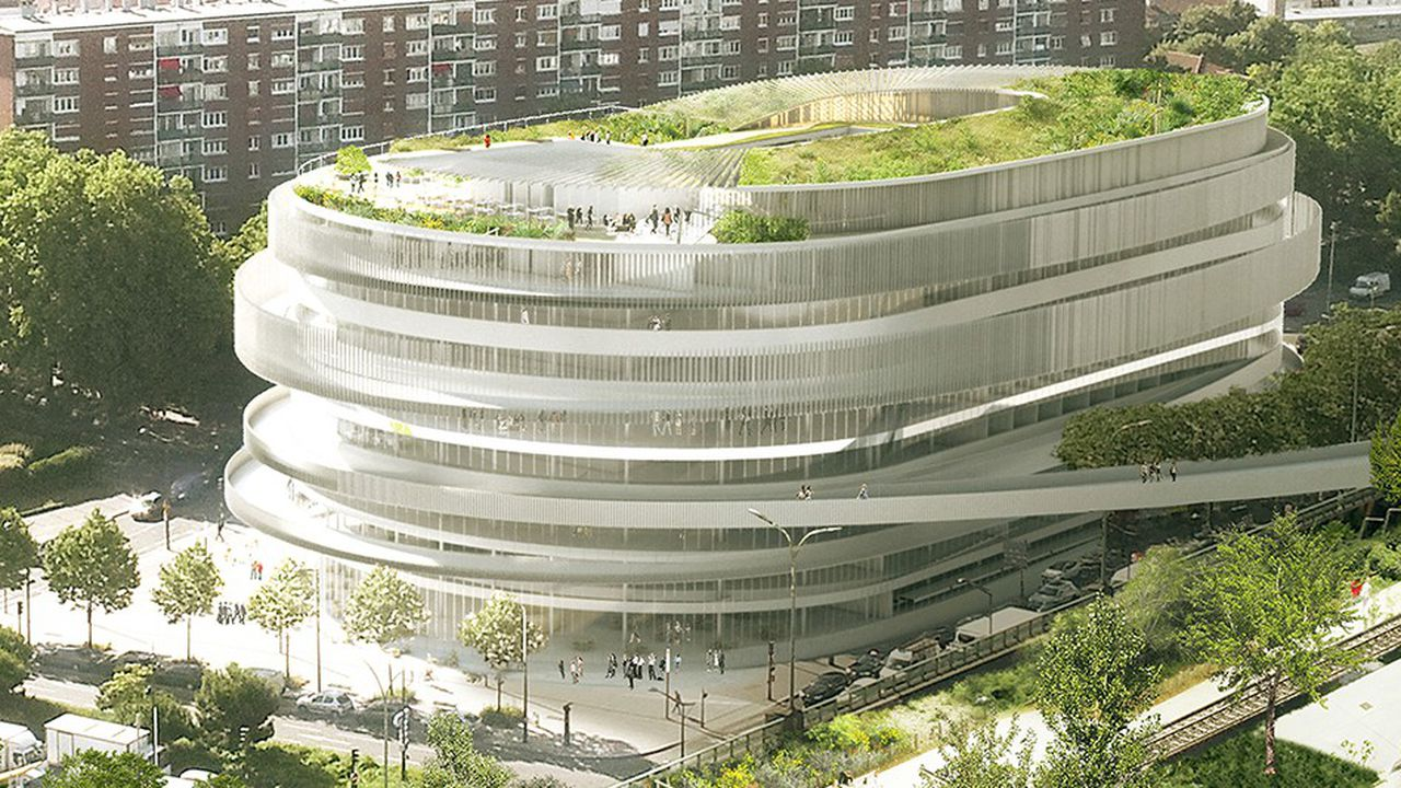 La Cité universelle, du concours Réinventer Paris, intégrera un parcours agro-thérapeutique et un jardin des sens créés par la société Merci Raymond.