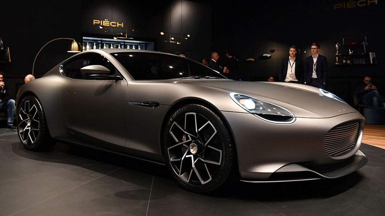 La Piëch Mark Zero est la première voiture présentée par Anton Piëch, descendant de l'une des familles les plus célèbres de l'automobile.