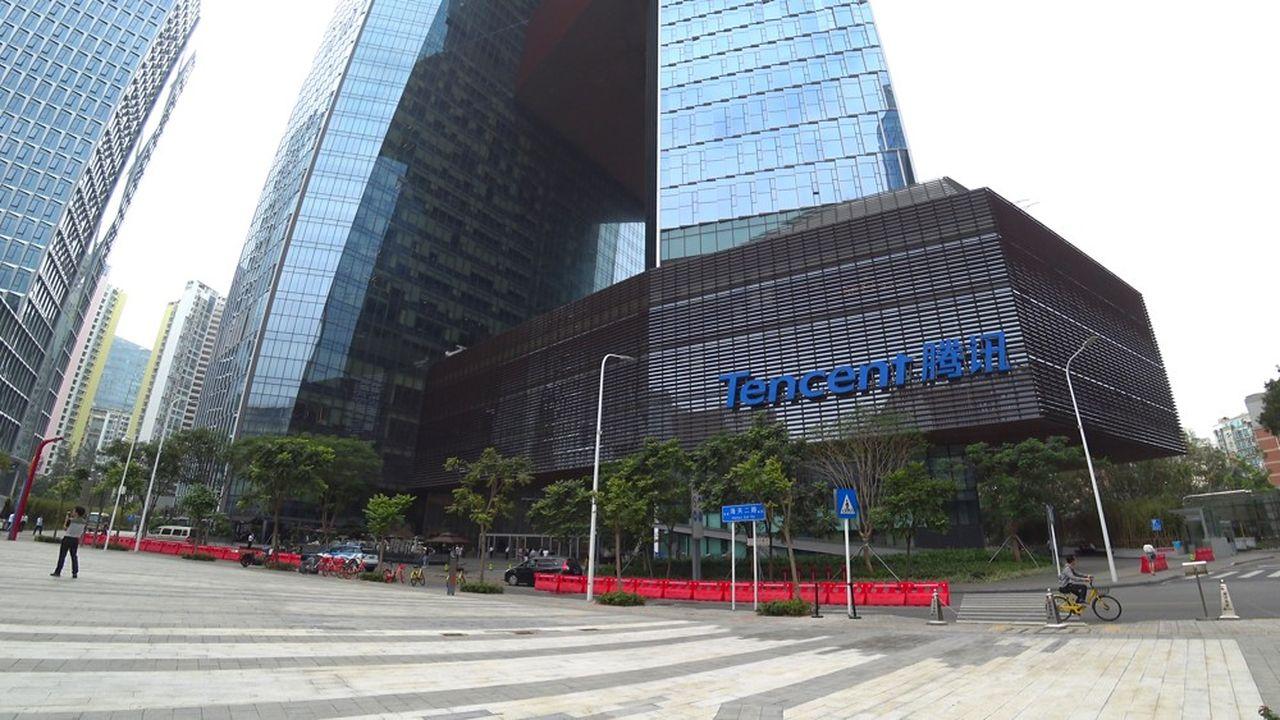 Tencent est redevenu la septième capitalisation boursière mondiale