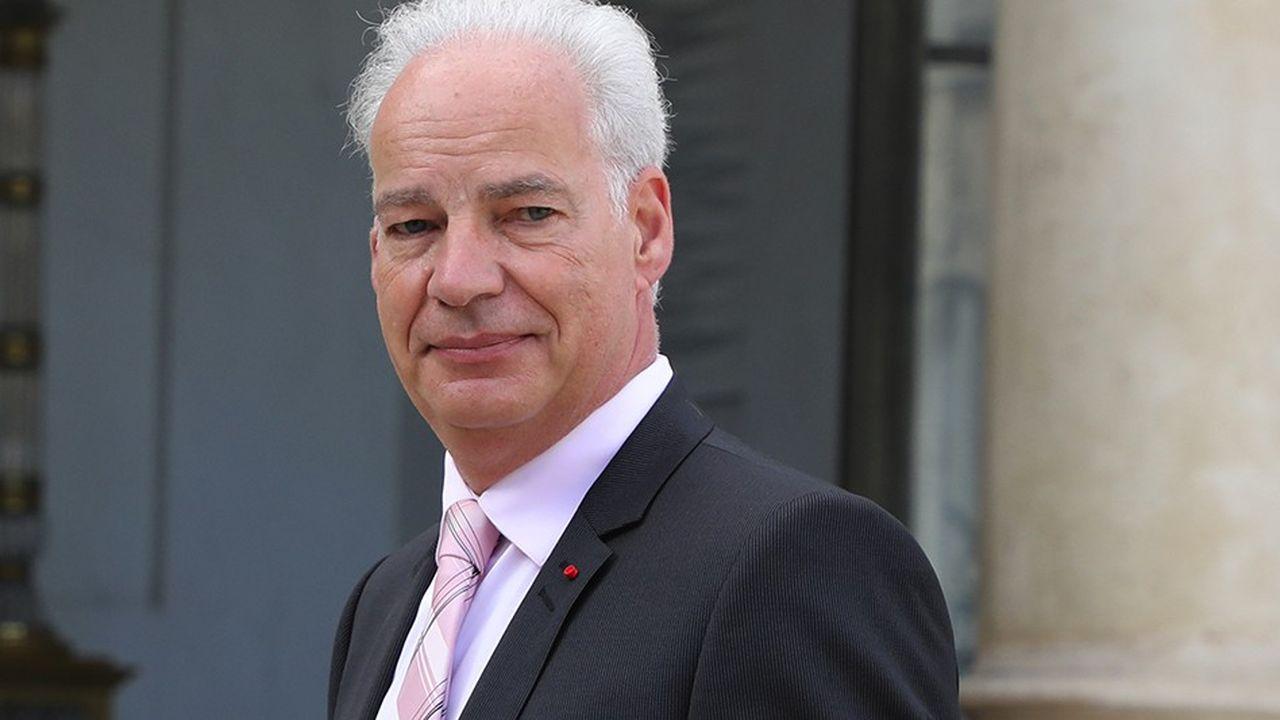 Alain Griset, président de l'U2P, qui représente les artisans, commerçants et professions libérales.