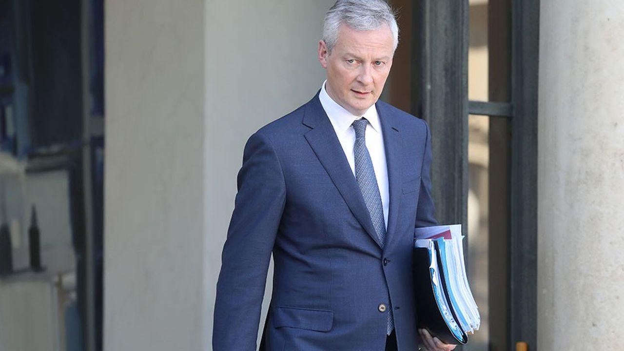 Le ministre de l'Economie, Bruno Le Maire, a dû monter au créneau plus d'une fois pour défendre la privatisation d'ADP.