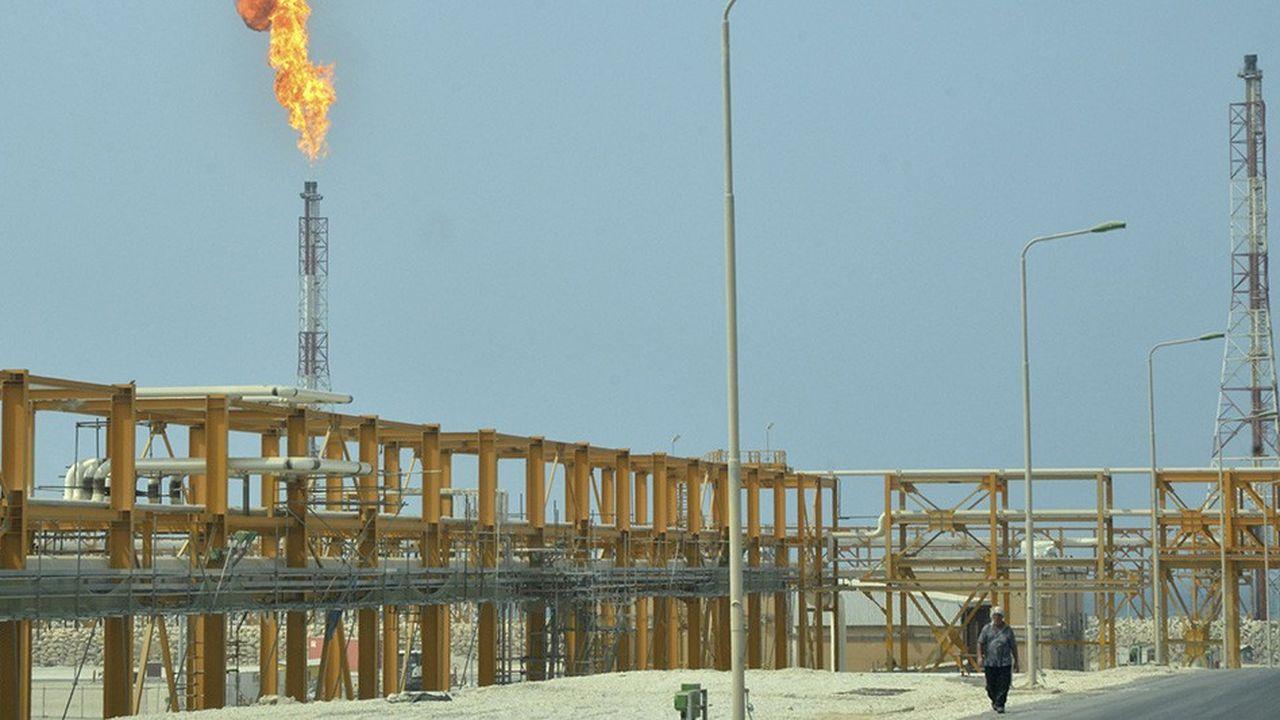 La possibilité d'exporter gaz et pétrole depuis des terminaux comme ici celui de South Pars est vitale pour l'Iran.
