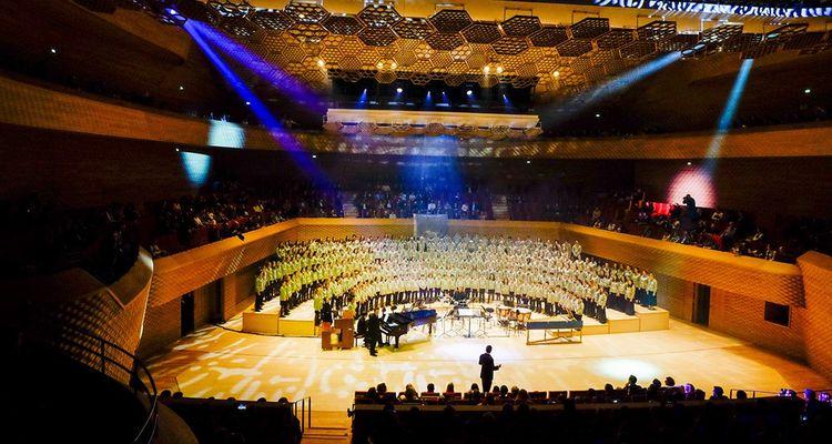 L'auditorium deplus de 1.100places, trouve peu à peu son public, au-delà des fidèles d'Insula Orchestra en résidence.