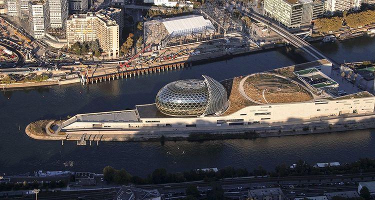 La Seine Musicale profitera bientôt des aménagements sur le reste de l'Ile Seguin.