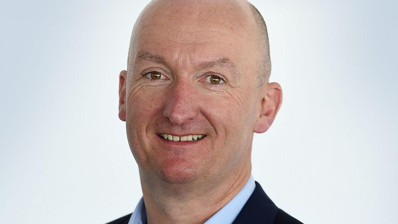 Le nouveau patron d'Auchan Holding, Edgard Bonte, effectuait ce vendredi sa première sortie publique.