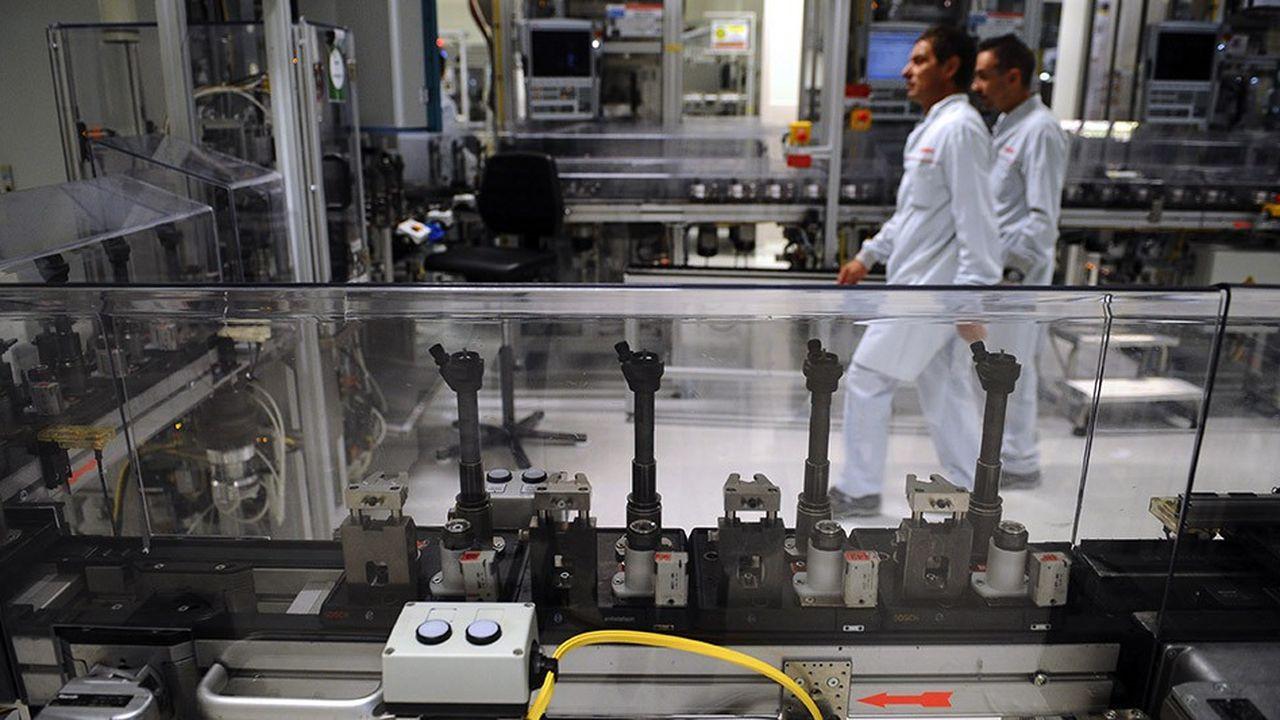 Dans l'usine Bosch de Rodez (Aveyron), qui fabrique des injecteurs diesel, 300 emplois sont menacés par la chute du diesel