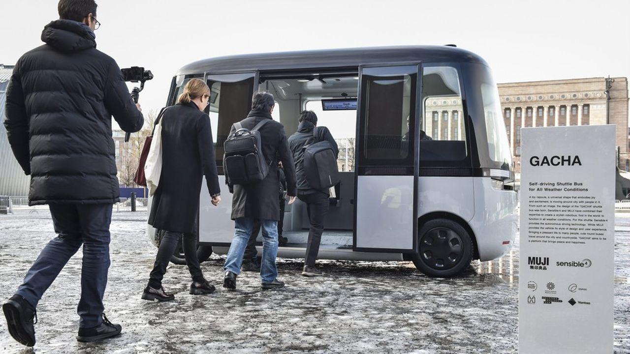 Officiellement présentée en fin de semaine dans la capitale finlandaise, «Gacha» a un look qui peut surprendre.