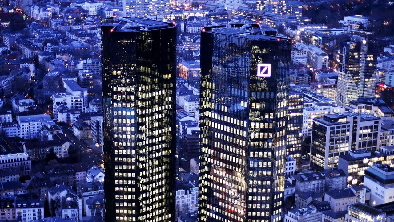 Les dirigeants de Deutsche Bank ont marqué leur accord pour des discussions informelles en vue de fusionner avec Commerzbank, selon de nombreuses sources. Mais il n'y a encore aucun mandat formel.