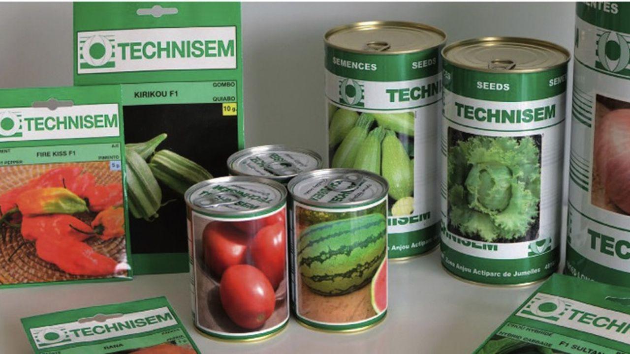 Technisem a constitué un catalogue de 550 variétés potagères, dont une cinquantaine de tomates.