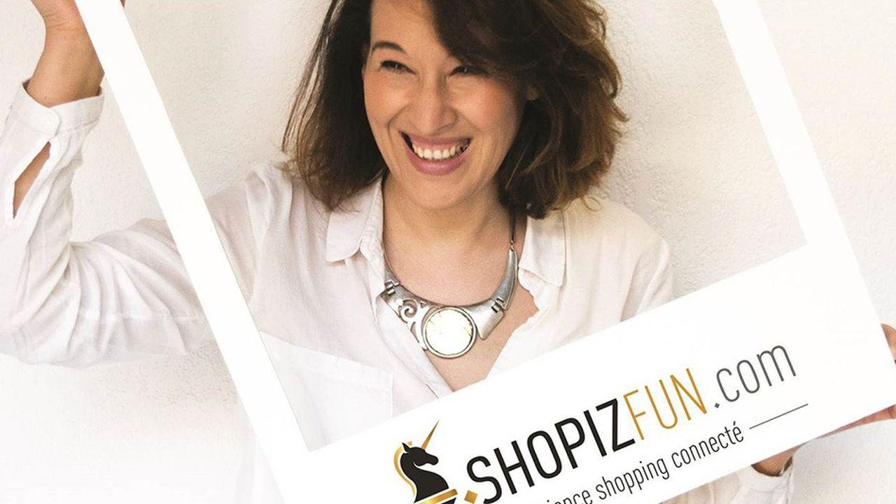 Naouel Harihiri, la fondatrice de ShopizFun.