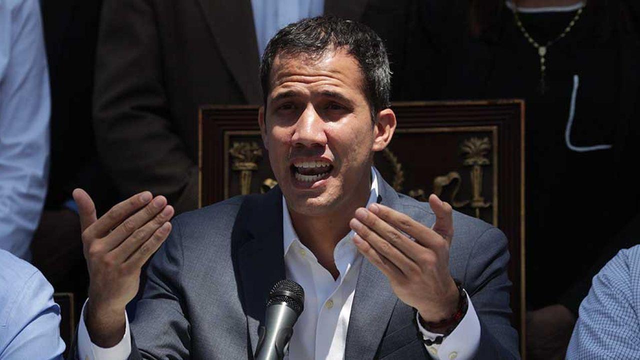 «Cette catastrophe, nous devons nous en occuper maintenant», a martelé Juan Guaido, dimanche