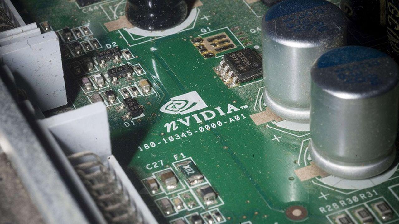 Nvidia a une capitalisation boursière s'élevant à plus de 90milliards de dollars