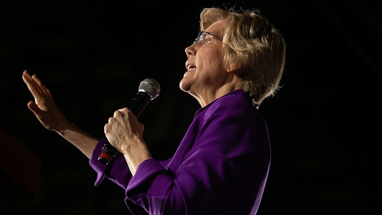 En attendant Bernie Sanders, notamment, Elisabeth Warren est la première candidate démocrate à formuler des propositions concrètes pour brider la puissance des géants de la tech.
