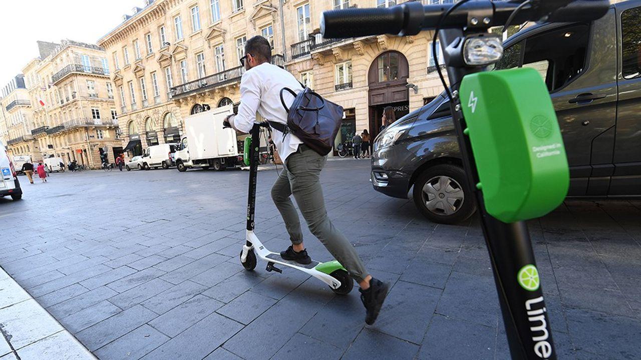 Lime est présente à Paris, Lyon et Marseille. Elle est la première à s'être lancée sur le créneau de la trottinette en free floating dans l'Hexagone