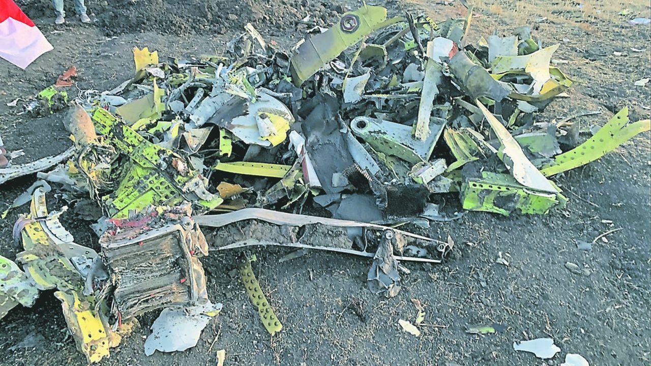 L'avion d'Ethiopian Airlines, qui transportait 157 passagers, s'est écrasé dimanche à 630 kilomètres d'Addis Abeba.