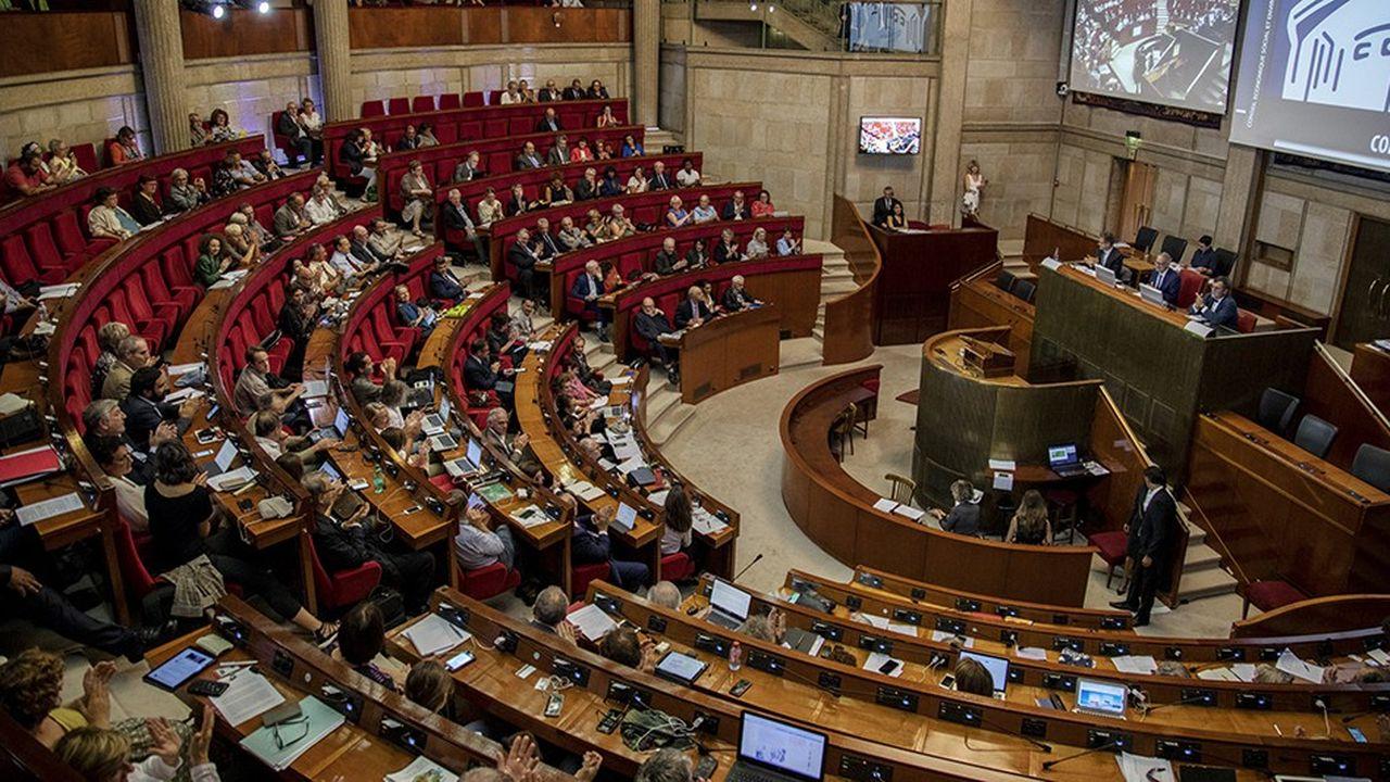 Le Conseil économique, social et environnemental reçoit ce mardi le Premier ministre, Edouard Philippe.