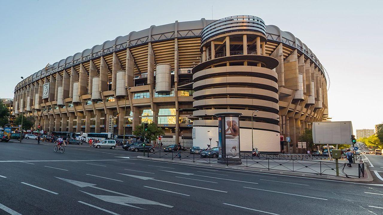 Le Santiago Bernabeu à Madrid