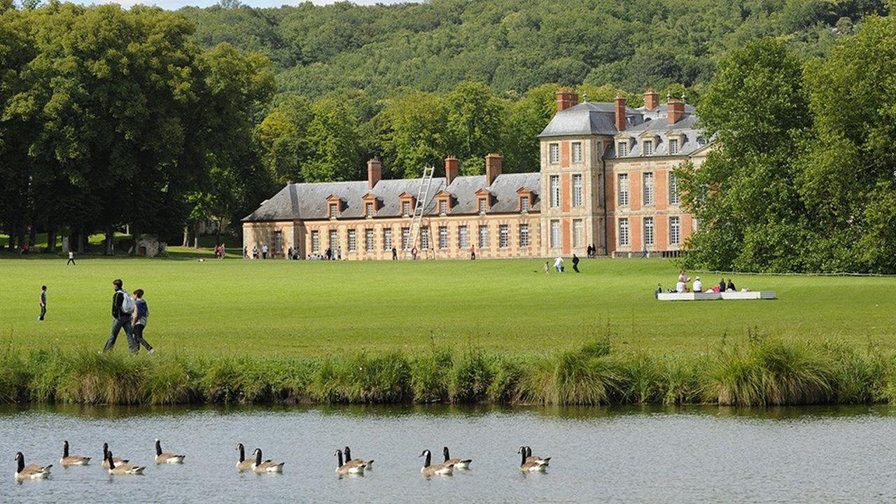 Le domaine départemental de Chamarande est labellisé «jardin remarquable».