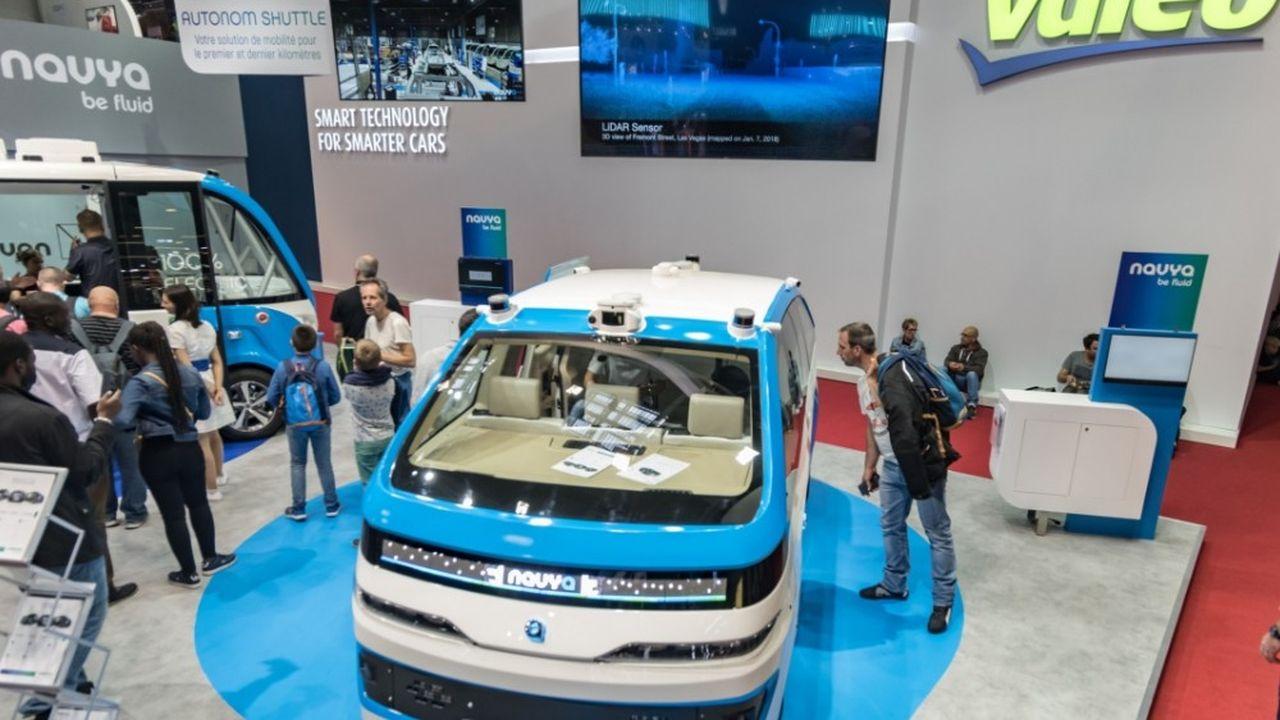 Avec 784 demandes de brevets déposées auprès de l'Office européen des brevets en 2018, l'équipementier automobile Valeo est la première entreprise française.