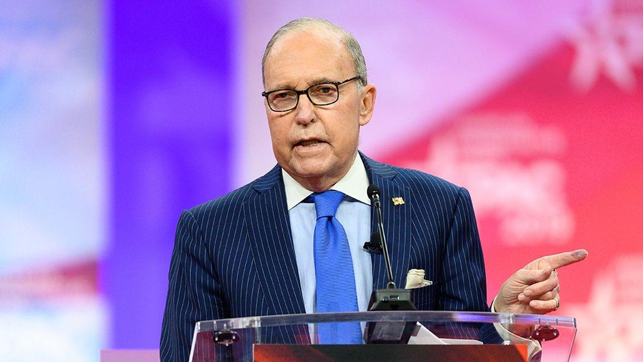Pour Larry Kudlow, conseiller économique à la Maison-Blanche, les réductions d'impôt s'autofinancent en stimulant la croissance économique.